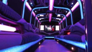 Luxury Limo Party Bus
