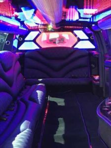 16 Passengers Jet Door Escalade Stretch Limousine